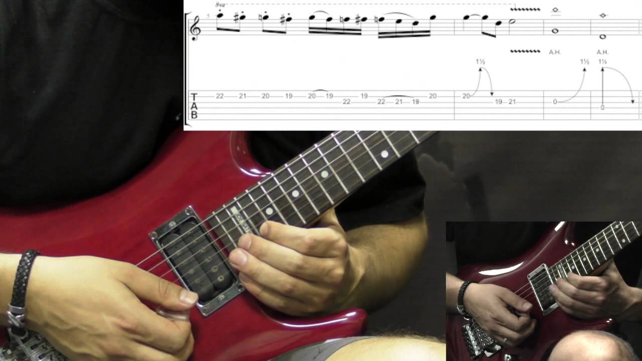 Domination pantera guitar tabs