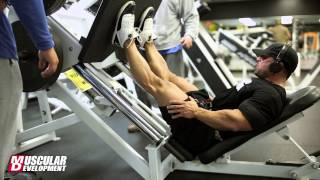 IFBB Pro Guy Cisternino Trains Legs 5 Weeks Out from the 2013 Mr Olympia