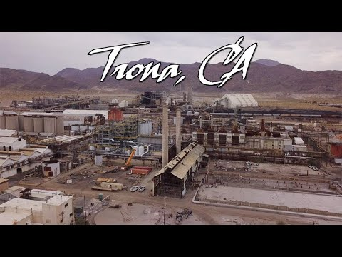 Ghost Towns & Mines: Trona CA 2019