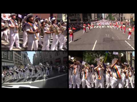 The Lesbian & Gay Big Apple Corps Performing Uptown Funk