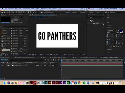 After Effects Tutorial 6: Track Matte