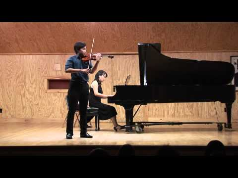 Glazunov Violin Concerto in A Minor, Andrew Kim