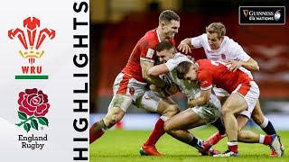 Wales v England - HIGHLIGHTS | 60+ Points Scored In Crucial Tie | 2021 Guinness Six Nations