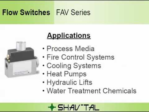 Flow Switches - Popular Models And Common Applications