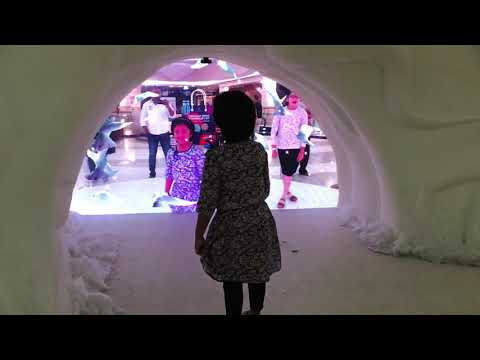 Simple Haze - Winter augmented reality experience in Dubai