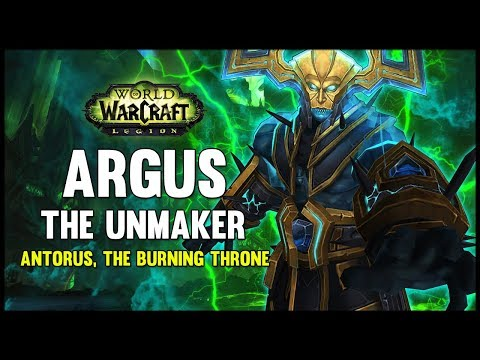 Argus the Unmaker - Antorus, the Burning Throne - 7.3 PTR - FATBOSS