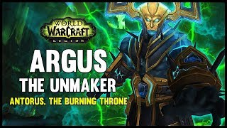 One of FatbossTV's most viewed videos: Argus the Unmaker - Antorus, the Burning Throne - 7.3 PTR - FATBOSS