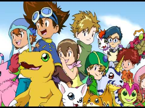Digimon - Full Theme Song (English) [HD]