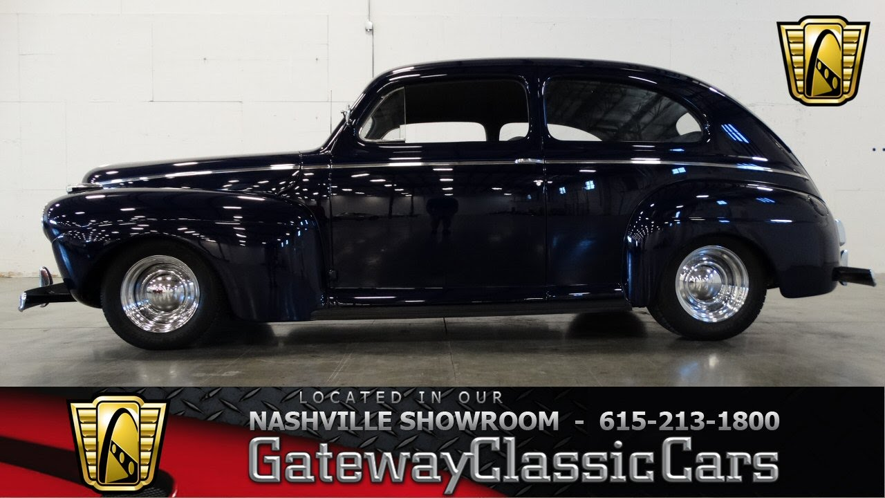 1941 Ford Special Deluxe Sedan Gateway Classic Cars Of Nashville Mercury 4 Door 67 Youtube