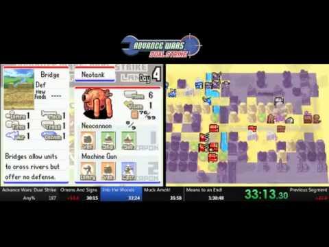 Advance Wars Dual Strike Speedrun - 1:29:33