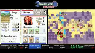 Advance Wars Dual Strike Speedrun - 1:29:33