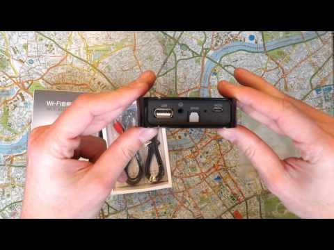 Unboxing AirMusic AirPlay WIFI DLNA Qplay Music Audio Receiver - UK