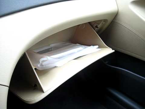 2011 Hyundai Sonata\'s Glove Box - YouTube