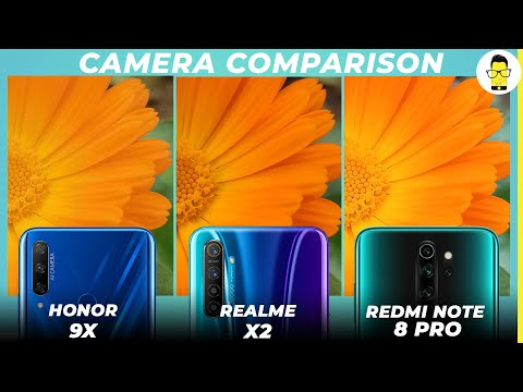 Honor 9X vs Redmi Note 8 Pro vs Realme X2 camera comparison - is the Honor intact?