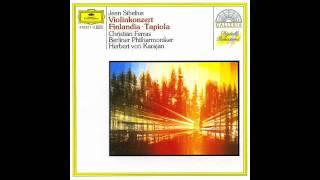 Sibelius Violin Concerto - Christian Ferras - Karajan - Mov. III Allegro, ma non tanto