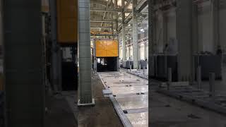 알루미늄 압출 후 열처리 작업