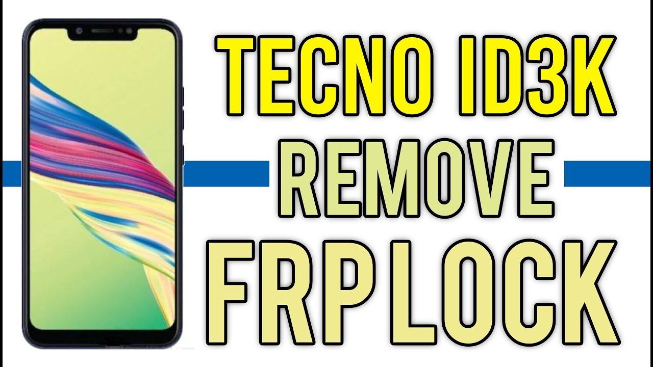 Tecno Id3k frp unlock with Tecno Flash tool | Hindi - Urdu