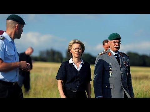 Ursula von der Leyen a jelölt az EB elnöki posztjára