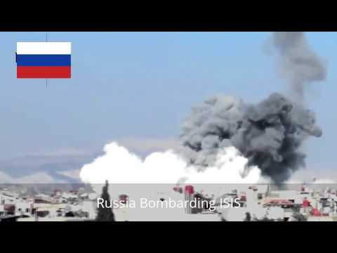 RUSSIA Bomabrding ISIS Total ISIS Destruction By Russian Air Force LATEST 2015