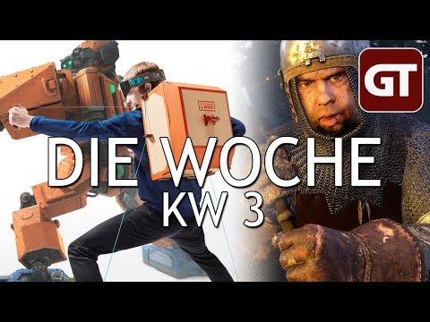 Letsplayer machen alles kaputt & Trubel um Kingdom Come – Die Woche KW 3 – GT-Talk #84