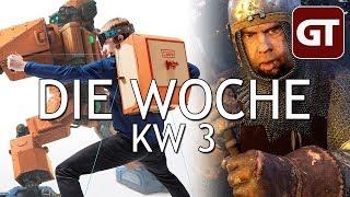 Thumbnail für Letsplayer machen alles kaputt & Trubel um Kingdom Come – Die Woche KW 3 – GT-Talk #84