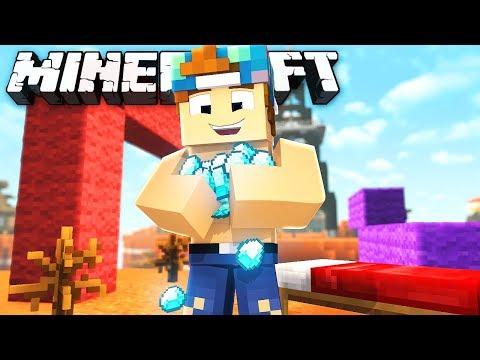 I HAVE TOO MANY DIAMONDS!?   Minecraft Bed Wars