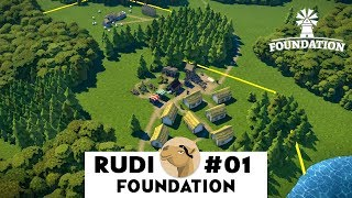 FOUNDATION Lets Play  - Content Pack 2 (Ep1)