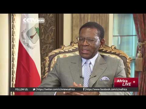 Equatorial Guinean president welcomes investment from China