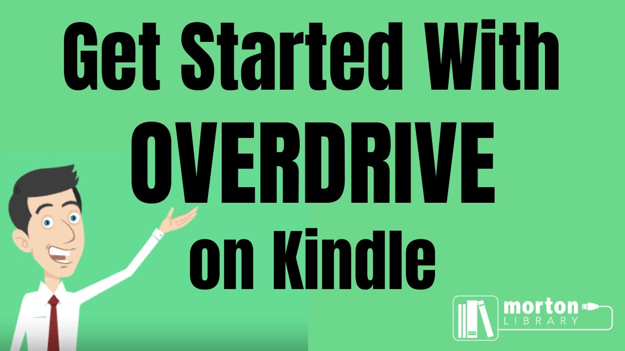 Downloading Overdrive eBooks to Kindle Devices