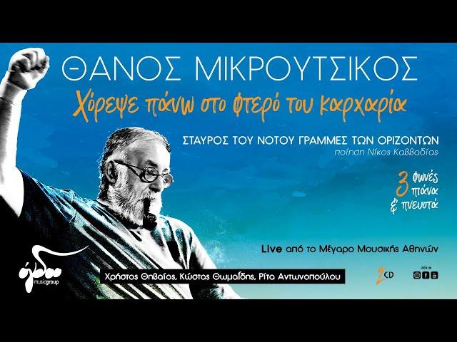 Θάνος Μικρούτσικος - Χόρεψε Πάνω Στο Φτερό Του Καρχαρία (Album Teaser)
