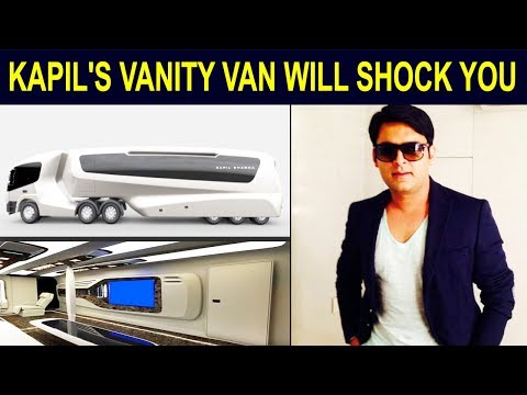 Kapil Sharma's New Vanity Van Is More Expensive Than 5 Star Hotel | Inside Pictures