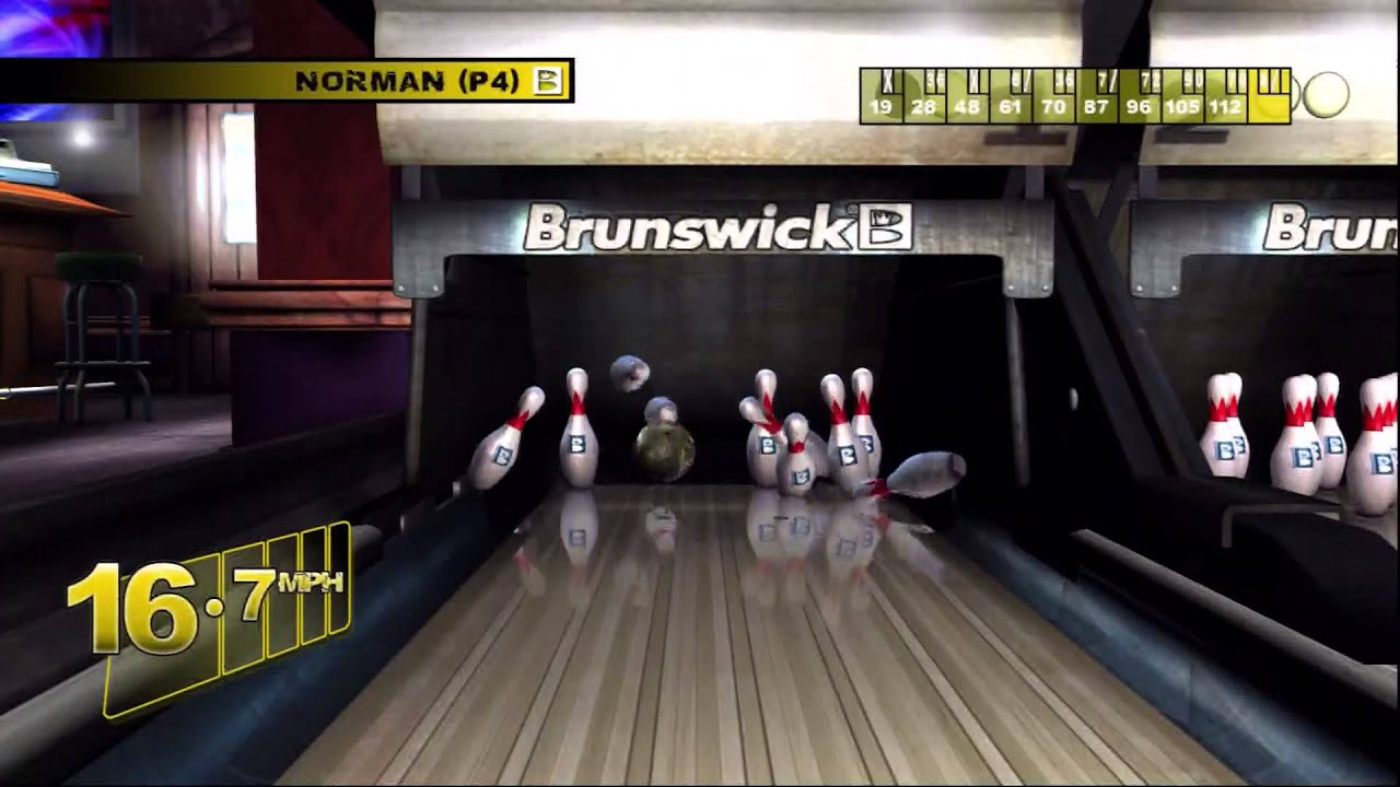 BrunSwick Pro Bowling Ps3 GamePlay Part 1 YouTube