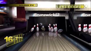 BrunSwick Pro Bowling Ps3 GamePlay Part 1