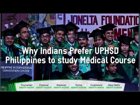 Medical Course (≈MBBS) in Philippines - Why Indians Prefer UPHSD, Philippines