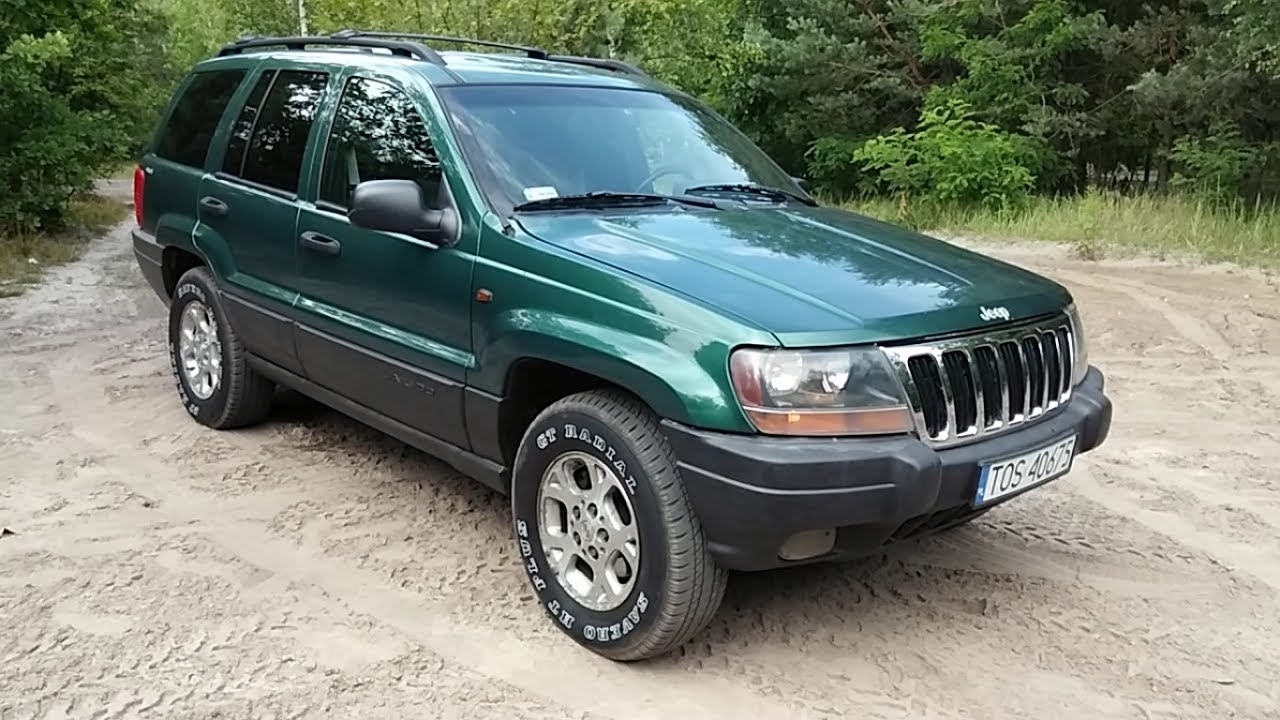 2000 Jeep Grand Cherokee WJ 4.0 Laredo Quick Review Start Up Tour