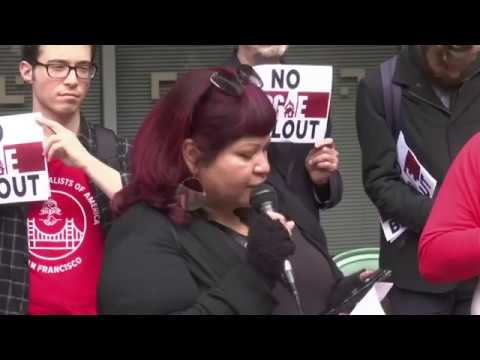 Activists Upset Over WildfiresProtest PG&E Bailout