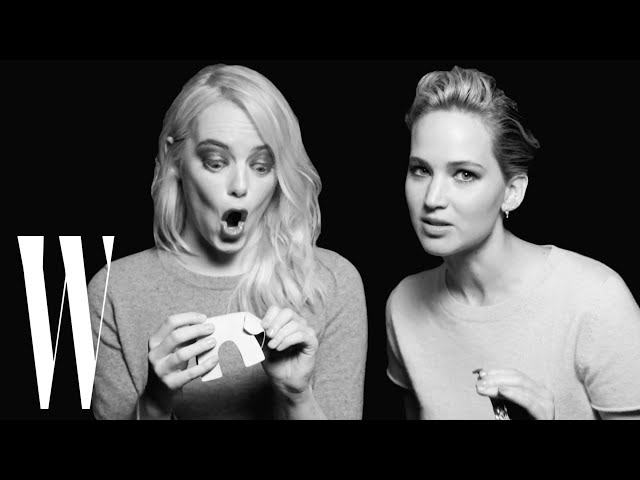 Jennifer Lawrence and Emma Stone Have a Lot in Common | Screen Tests | W Magazine