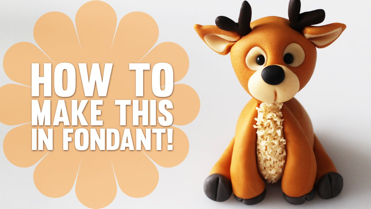 Super Speed Video How To Make A Reindeer Cake Topper