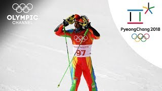 Its over too quickly - Shannon Abeda's Slamom Race| Day 13 | Winter Olympics 2018 | PyeongChang