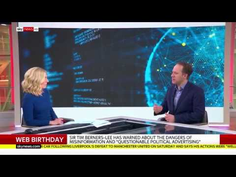 A Web For Everyone | Web Foundation CEO on Sky News | Web Foundation