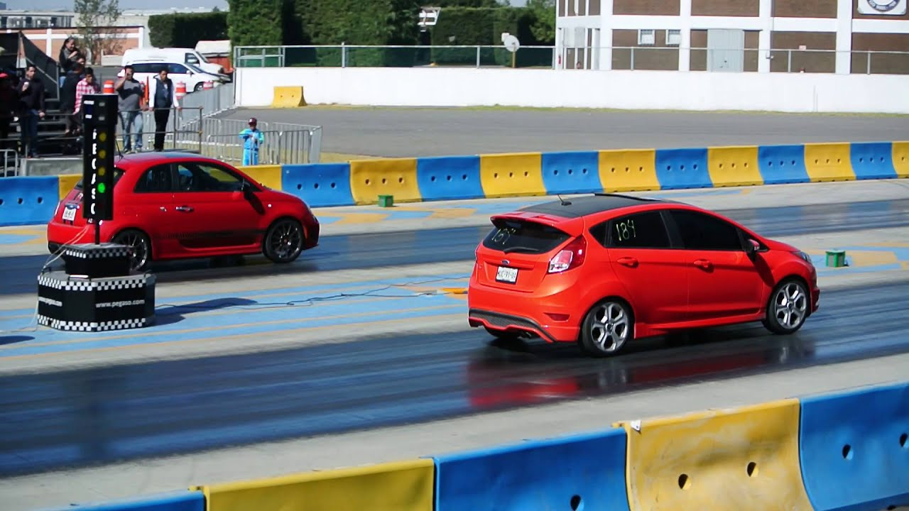 fiat abarth vs fiesta st - auto express