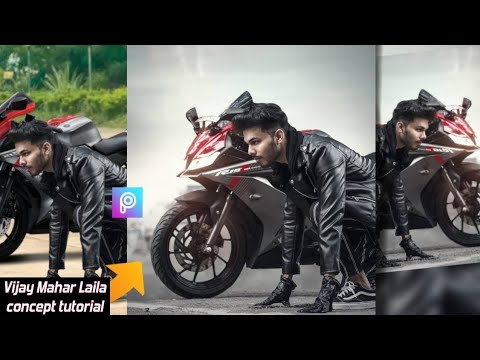 Vijay Mahar ready to race concept tutorial | Vijay Mahar bike photo editing | TR EDITZ🏍️ thumbnail