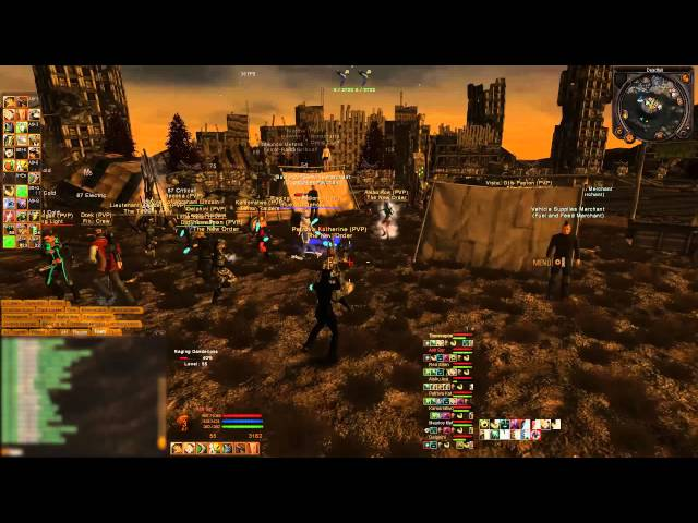 Fallen Earth - Fight For Your Life (LA fights) pt1