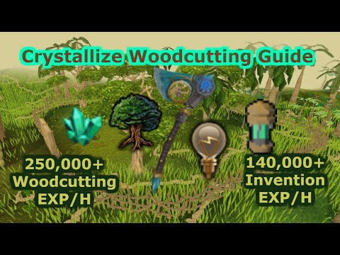 [Runescape 3] Crystallize Teaks Guide | Fastest WC exp in game!