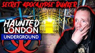 WARNING Haunted London Underground Train Tunnels - Secret Apocalypse Shelter!!