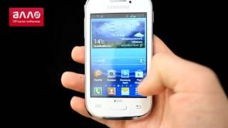 Демонстрация смартфона Samsung Galaxy Young S6312