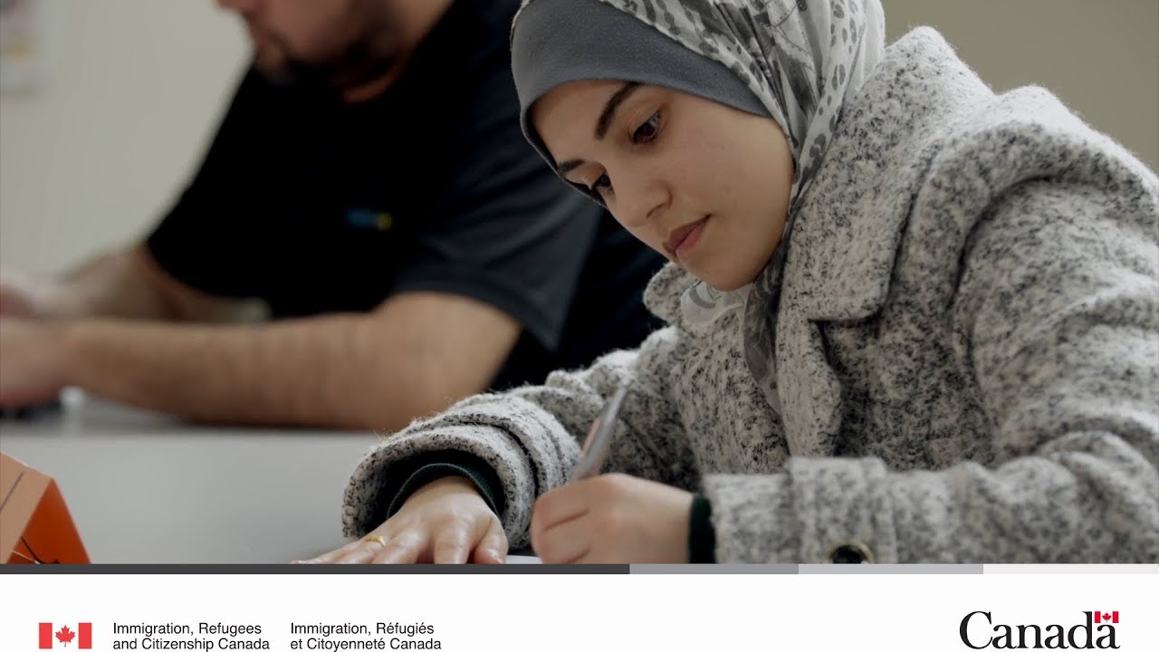 Language training options for newcomers to Canada