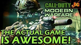 IS CALL OF DUTY MODERN WARFARE REALLY THAT GOOD? Despite Activision Infinity Ward Has Done Great!