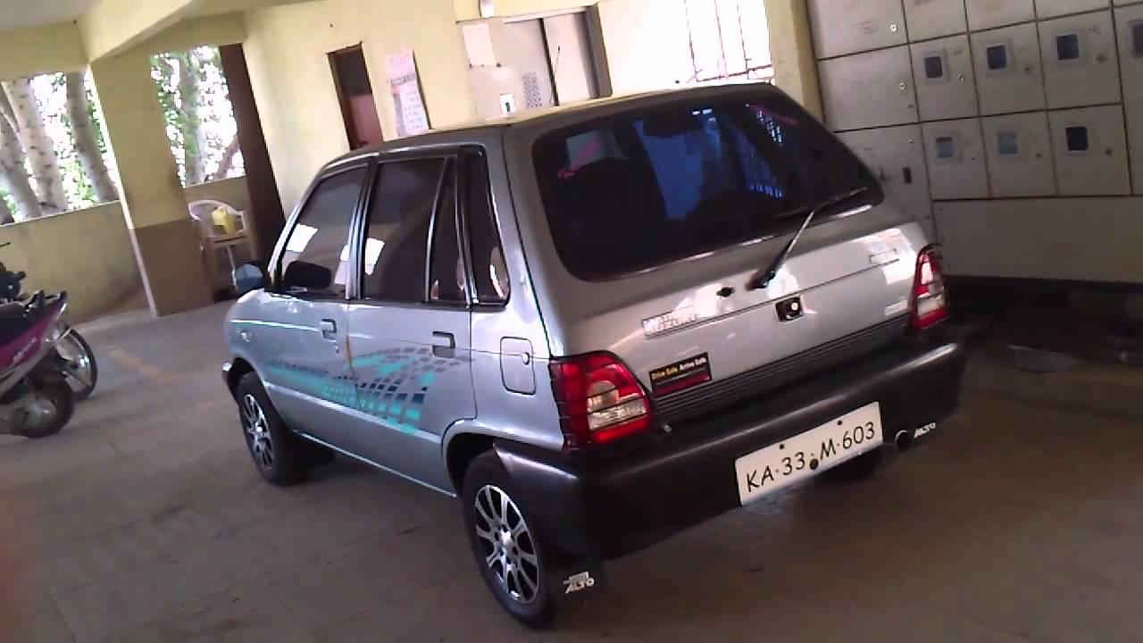 Maruti 800 Free Flow Exhaust