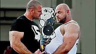 Strongman VS Powerlifter - LOGLIFT Madness #1